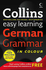 Collins German Grammar (Collins Easy Learning Dictionaries)-ExLibrary