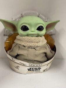"Baby Yoda Doll Star Wars Mandalorian/The Child 11"" Plush/Mattel/GWD85"