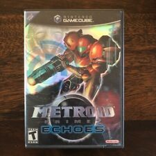 Metroid Prime 2: Echoes (Gamecube) COMPLETE, All Inserts, GREAT Cond, FREE Ship