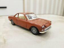 Fiat Siata 1500 Vintage Metal Car Model 1:43 Politoys Remake Made in USSR