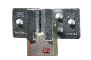IFAM HERCULES A CEN 4 RATED HIGH SECURITY PADLOCK. WITH IFAM HIGH SECURITY HASP.