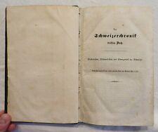 Anton Henne - Schweizer Chronik - Band 2 - St. Gallen - Buch 3+4 - 1840