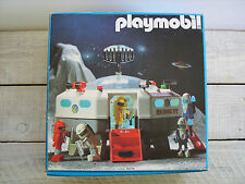 Playmobil 3536 Space Station Set Vtg 1987 Astronaut Cosmonaut 80's