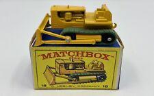 Matchbox No. 18 Caterpillar Bulldozer in Original 'E1' Box