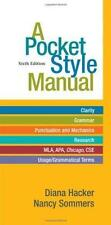 A Pocket Style Manual by Nancy Sommers and Diana Hacker (2011, Paperback, New E…