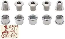 SHIMANO 105 5700 BICYCLE DOUBLE CHAINRING BOLT AND CAP SET
