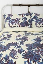 MAGICAL THINKING/urban Outfitters Paisley Blossom Duvet Cover Full Queen Bedding