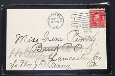 Us Postal History mourning letter Brooklyn ny 2c 1911 EE. UU. trauerbrief (h-10942