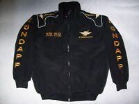 NEU ZÜNDAPP KS 50 WC Oldtimer Fan Jacke schwarz veste jacket jas giacca jakka