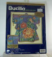 Bucilla ORIENTAL KIMONO Counted Cross Stitch Kit #42451 Barbara Baatz 1999