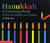 Hanukkah: A Counting Book in English, Hebrew, and