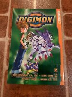 Digimon Volume 2 Yuen Wong Yu English Manga Bandai Tokyopop FREE SHIPPING