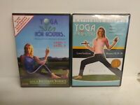 Yoga for Golfers: Level 1 & 2 (DVD, 2007) AND Lowering Score Katherine Roberts