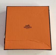Vintage Hermes Box & Tissue Paper 13.5x13.5cm.