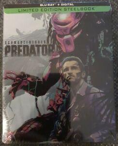 Predator Blu-ray Steelbook Brand New & Sealed