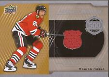 MARIAN HOSSA 2016-17 Upper Deck A Piece of History 500 Goals Club Jersey Ottawa