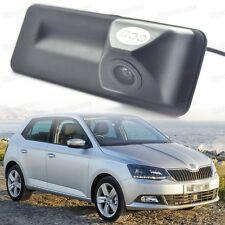 Car Trunk Handle + Rearview Camera Reverse Parking for Skoda Fabia 2011-2016