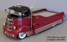 Danbury Mint 1930's GMC CUSTOM CAR CARRIER 1/24 XC!