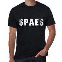 spaes Herren T shirt Schwarz Geburtstag Geschenk 00553