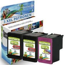 TINTE PATRONEN für HP 301 XL DESKJET 1000 1010 1510 2510 2514 2542 2543 2544