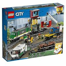 LEGO City 60198 Motorised Cargo Train lot2