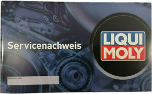 Liqui Moly Universal Serviceheft Scheckheft Wartungsheft Inspektionheft
