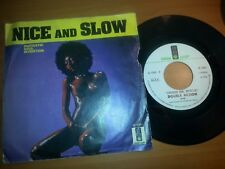 FANTASTIC SOUL INVENTION  NICE AND SLOW  DOUBLE ACTION  DISCO 45 GIRI 7'