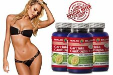 Miracle Garcinia Cambogia - GARCINIA CAMBOGIA - Fat Burner Pills 3 Bottles