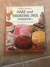 Betty Crocker's Cake and Frosting Mix Cookbook 1st edition & 1st Print hc/...