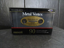 METAL VERTEX 90 AUDIO-KASETTE NEW UNUSED  EINZIG WAHRE LEGENDE! vintage