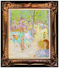 Jocelyne Seguin Original Oil Painting On Canvas Signed Landscape Portrait Art