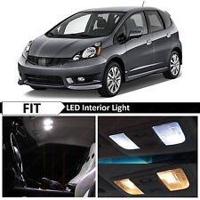 8x White LED Lights Interior Package Kit Fits 2009-2013 Honda Fit Jazz