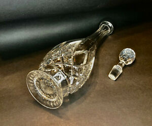 BACCARAT CRYSTAL  FOOTED DECANTER