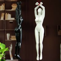 Handcraft Hard Resin Naked Girl Statue Art Deco Indoor Hand Artwork Sculptures