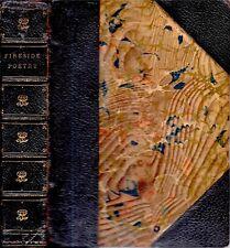 1890 FINE BINDING LEATHER POETRY ILLUSTRATED JOHN MILTON WORDSWORTH GIFT IDEA