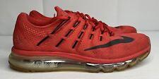 Nike Air Max 2016 University Red/Black 806771 601 Men Size 10 Running Shoes