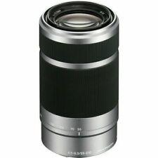 SONY SEL55210 55-210mm f/4.5-6.3 lente asférica IS OSS (plata)