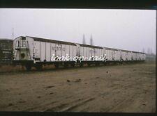 N1266 - Dia slide 35mm original Eisenbahn Holland, NS Interfrigo Wagen, '70s