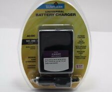 CASIO NP20/30/40/50/60/90/100/110/NPL7 Universal Charger by Digital Sunflash-Blk