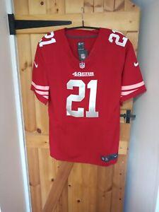 "SAN FRANCISCO 49ers NFL JERSEY BY NIKE SIZE XL 46/48"" - GORE 21 - BNWT"