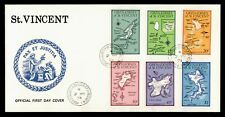 DR WHO 1974 GRENADINES OF ST. VINCENT FDC NICE CACHET 179934
