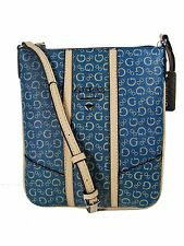 Guess Nichols Mini Crossbody Messenger Shoulder Bag Midnight Blue New NWT