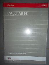Audi A6 1998 : programme autodidactique 194