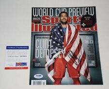 Usa Clint Dempsey Signed Autographed 8x10 Photo Psa/Dna Ab78625 exact proof