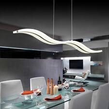 LED Wave Modern Chandelier Pendant Lights 4 Living /Bedroom/Dining Room