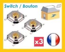 3 micro switch button key card RENAULT LAGUNA ESPACE MEGANE SCENIC VEL SATIS