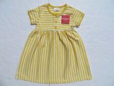 Hanna Andersson 140 110 120 Girls Daydress Dress Yellow Stripes 100% Cotton NEW