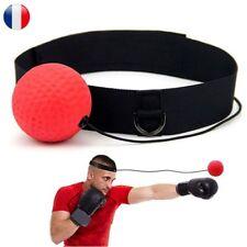 Boxe Balle Entraînement Sport Combat Rapide Precision Reflexe Ceinture Frontale