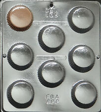 Large Peanut Butter Cup Chocolate Candy Mold Candy Making  105 NEW