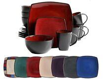16-Piece Dinnerware Set Stoneware Kitchen Dinner Plates Bowls Mugs Dishes